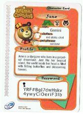 The Back of June's E-Reader Card