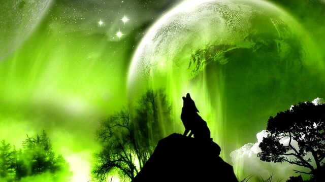 File:Green outer space trees animals planets moon wolf 1366x768 wallpaper www.wall321.com 76.jpg