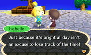 Isabelle Chatting in Summer Solstice 2