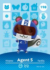Amiibo 198 Agent S