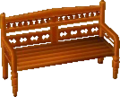 Exotic bench