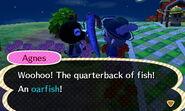 Agnes - Animal Crossing Wiki Oarfish Animal Crossing