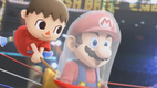 Villager Catches Mario