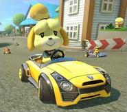 Isabelle Mario Kart8