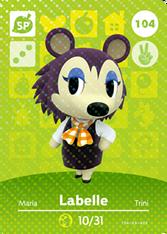 Amiibo 104 Labelle