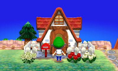 Toit animal crossing wiki fandom powered by wikia for Extension maison animal crossing wild world