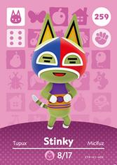 Amiibo 259 Stinky