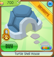 Pets-Only-Shop Turtle-Shell-House Blue