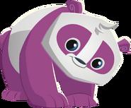Purple panda