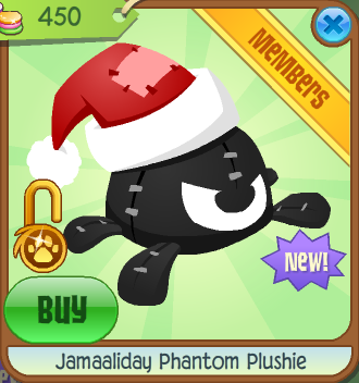 Jamaaliday Phantom Plushie Animal Jam Wiki