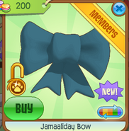 Shop Jamaaliday-Bow Teal