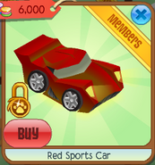 Red sports car 1