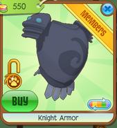 Shop Knight-Armor Blue