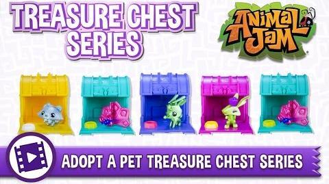 Animal Jam Toys - Treasure Chest Series