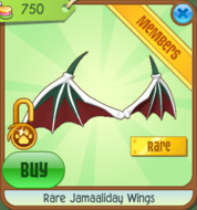 Rare Jamaaliday Wings 1