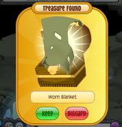 Worn-blanket-found