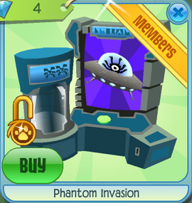 how to get phantom items on animal jam