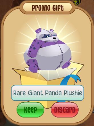 Rare Giant Panda Plushie Animal