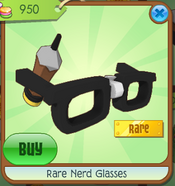 Code To Get Rare Nerd Glasses On Animal Jam