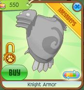 Shop Knight-Armor Silver