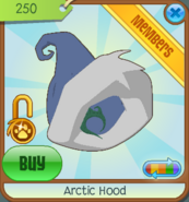 Shop Arctic-Hood Blue 2011