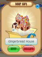 Gingerbread House Den 3