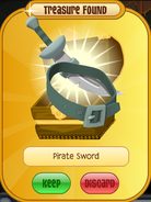 The-Search-For-Greely Phantom Pirate-Sword Green