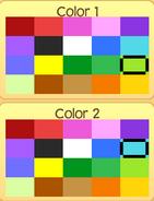 Pet tarantula colors