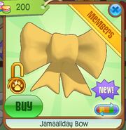 Shop Jamaaliday-Bow Yellow