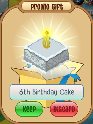 Animal Jam Th Birthday Cake Code
