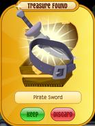 Meet-Cosmo Tiger Pirate-Sword Purple
