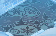 Snow-Fort Blue-Vines