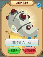 White Elf Tail Armor Animal Jam Wiki Fandom Powered