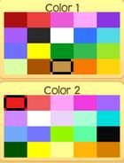 Pet bunny colors