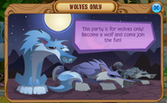 Wolves-Only Popup