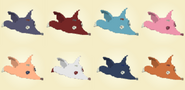 Icons of Fox Hats