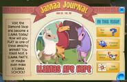 Aj llama jamaa journal
