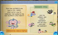 Monkey only party