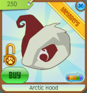 Shop Arctic-Hood Red 2011