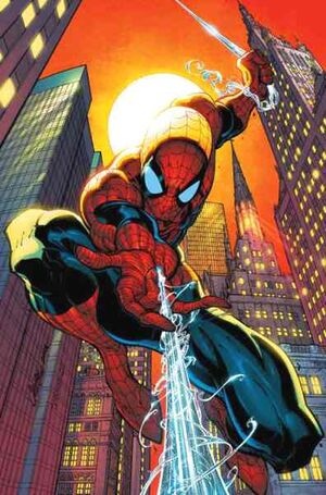 Spiderman Amazing comic hero Peter Parker