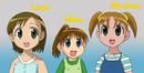 Mimi And Sora's Gradeschool Friends Art