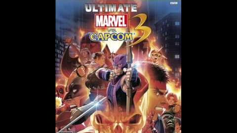 Ultimate Marvel vs Capcom 3 - Character Select