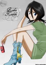 Rukia Kuchiki by LunaInverseElric