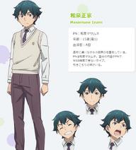 Masamune Izumi Anime Concept Art