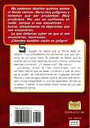 Animorphs 2 the visitor el visitante spanish back cover mariposa