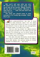 Animorphs 31 The Conspiracy back cover