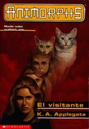 Animorphs book 2 The Visitor Spanish cover El visitante