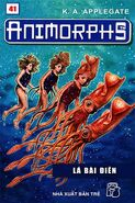 Animorphs 27 the exposed Lá bài điên vietnamese cover book 41
