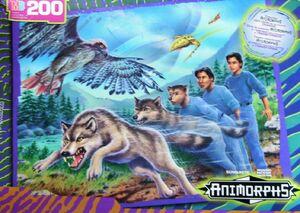 Marco wolf animorphs hasbro jigsaw puzzle