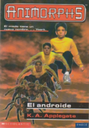 Animorphs 10 the android el androide spanish cover emece